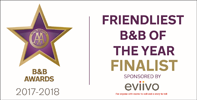 AA Finalist Friendliest B&B