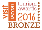 Devon Tourism Awards - Bronze