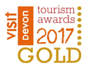 Devon Tourism Awards 2017 - Gold