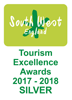 South West Tourism Awards - Silver 2018
